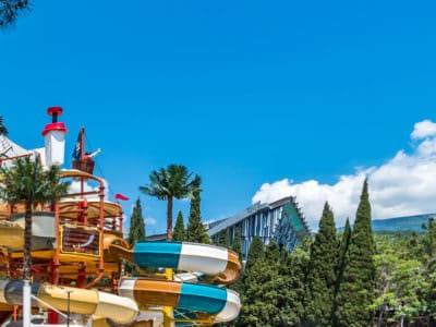 Аквапарк отеля Ялта Грин Парк