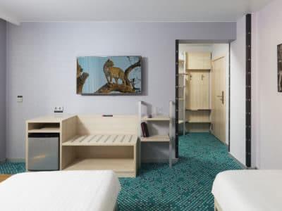 Стандарт с двумя односпальными кроватями Green Park 4