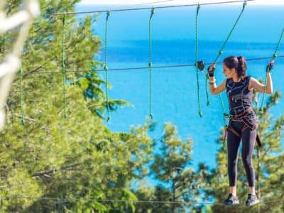 Веревочный парк отеля Ялта-Интурист Green Park (11)