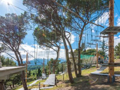 Веревочный парк отеля Ялта-Интурист Green Park (3)