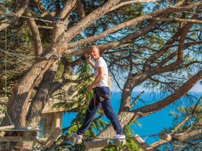 Веревочный парк отеля Ялта-Интурист Green Park (6)