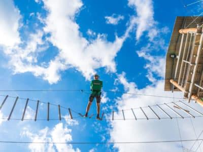 Веревочный парк отеля Ялта-Интурист Green Park (7)
