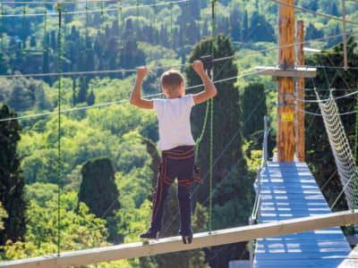 Веревочный парк отеля Ялта-Интурист Green Park (8)